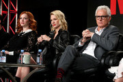 John Slattery and Christina Hendricks Photos Photo