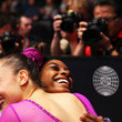Simone Biles and Margaret Nichols