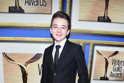 Actor Benjamin Stockham attends the 2015 Writers Guild Awards L.A. Ceremony at the Hyatt Regency Century Plaza on February 14, 2015 in Century City, California.