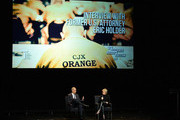 """Eric Holder, Former U.S. Attorney General and Tina Brown, CEO, Tina Brown Live Media attend the 2016 """"Tina Brown Live Media's American Justice Summit"""" at Gerald W. Lynch Theatre on January 29, 2016 in New York City."""