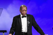 Inspirational Lifetime Achievement Award Recipient Sidney Poitier speaks onstage during the 2016 Carousel Of Hope Ball at The Beverly Hilton Hotel on October 8, 2016 in Beverly Hills, California.