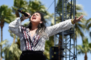 Musician Carla Morrison performs during day 1 of the 2016 Coachella Valley Music & Arts Festival Weekend 1 at the Empire Polo Club on April 15, 2016 in Indio, California.