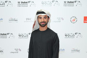 """Director Abdulla Al Kaabi attends the """"Only Men Go To The Grave"""" red carpet during day four of the 13th annual Dubai International Film Festival held at the Madinat Jumeriah Complex on December 10, 2016 in Dubai, United Arab Emirates."""