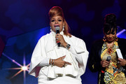 Karen Clark Sheard from The Clark Sisters speaks onstage during the Tribute Finale at the 2016 ESSENCE Festival Presented By Coca-Cola at Ernest N. Morial Convention Center on July 3, 2016 in New Orleans, Louisiana.