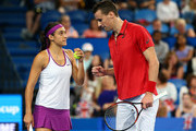 Caroline Garcia and Kenny De Schepper Photos Photo