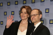 Sigourney Weaver (L) and David Hyde Pierce attend 2016 Human Rights Campaign New York Gala Dinner at The Waldorf=Astoria on February 6, 2016 in New York City.