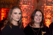 Actress Natalie Portman and founder of the LUMA Foundation Maja Hoffmann attend the 2016 Los Angeles Dance Project Gala at The Theatre at Ace Hotel Downtown LA on December 10, 2016 in Los Angeles, California.
