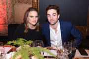 Actress Natalie Portman and actor Robert Pattinson attend the 2016 Los Angeles Dance Project Gala at The Theatre at Ace Hotel Downtown LA on December 10, 2016 in Los Angeles, California.