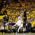 Kyrie Irving Photos - Kyrie Irving #2 of the Cleveland Cavaliers shoots a three-point basket late in the fourth quarter against the Golden State Warriors in Game 7 of the 2016 NBA Finals at ORACLE Arena on June 19, 2016 in Oakland, California. NOTE TO USER: User expressly acknowledges and agrees that, by downloading and or using this photograph, User is consenting to the terms and conditions of the Getty Images License Agreement. - 2016 NBA Finals - Game Seven