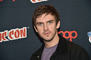 """Dan Stevens  attends the FX Network's """"Legion"""" Press Room during 2016 New York Comic Con at The Javits Center on October 9, 2016 in New York City."""