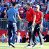Brandt Snedeker Photos - Martin Kaymer of Europe shakes hands with Brandt Snedeker of the United States at the end of their round during afternoon fourball matches of the 2016 Ryder Cup at Hazeltine National Golf Club on September 30, 2016 in Chaska, Minnesota. - 2016 Ryder Cup - Afternoon Fourball Matches
