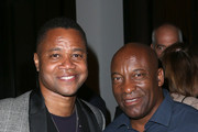 Actor Cuba Gooding Jr. (L) and filmmaker John Singleton attend the 32nd annual Television Critics Association Awards during the 2016 Television Critics Association Summer Tour at The Beverly Hilton Hotel on August 6, 2016 in Beverly Hills, California.