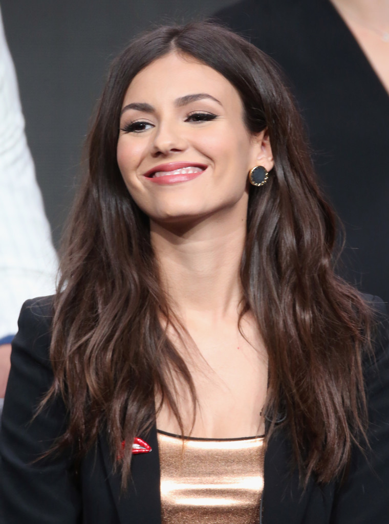 Victoria Justice Speaks at TCA Summer Press Tour in Beverly Hills 8/8/2016