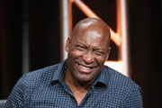 Director John Singleton speaks onstage at 'The People v. O.J. Simpson: American Crime Story' panel discussion during the FX portion of the 2016 Television Critics Association Summer Tour at The Beverly Hilton Hotel on August 9, 2016 in Beverly Hills, California.