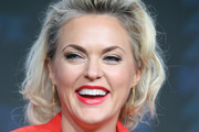 Actress Elaine Hendrix speaks onstage at 'Sex&Drugs&Rock&Roll' panel discussion during the FX portion of the 2016 Television Critics Association Summer Tour at The Beverly Hilton Hotel on August 9, 2016 in Beverly Hills, California.