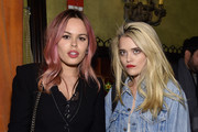 Atlanta de Cadenet Taylor and Sky Ferreira attend the 2016 Tribeca Film Festival After Party For Elvis & Nixon Sponsored By Bai Beverages at The Jane Hotel on April 18, 2016 in New York City.