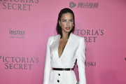 Adriana Lima in a White Blazer Dress - Every Stunning Look from the Victoria's Secret Fashion Show After Party
