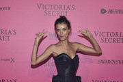 Lais Oliveira attends the 2016 Victoria's Secret Fashion Show after party on November 30, 2016 in Paris, France.