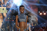 Maria Borges walks the runway during the 2016 Victoria's Secret Fashion Show on November 30, 2016 in Paris, France.
