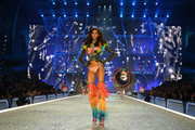 Cindy Bruna walks the runway during the 2016 Victoria's Secret Fashion Show on November 30, 2016 in Paris, France.