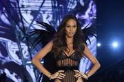 Joan Smalls walks the runway during the 2016 Victoria's Secret Fashion Show on November 30, 2016 in Paris, France.