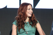 Actress Clara Paget speaks onstage during the Black Sails panel as part of the Starz portion of This is Cable 2016 Television Critics Association Winter Tour at Langham Hotel on January 8, 2016 in Pasadena, California.
