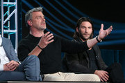 Actor Ray Stevenson speaks onstage during the Black Sails panel as part of the Starz portion of This is Cable 2016 Television Critics Association Winter Tour at Langham Hotel on January 8, 2016 in Pasadena, California.