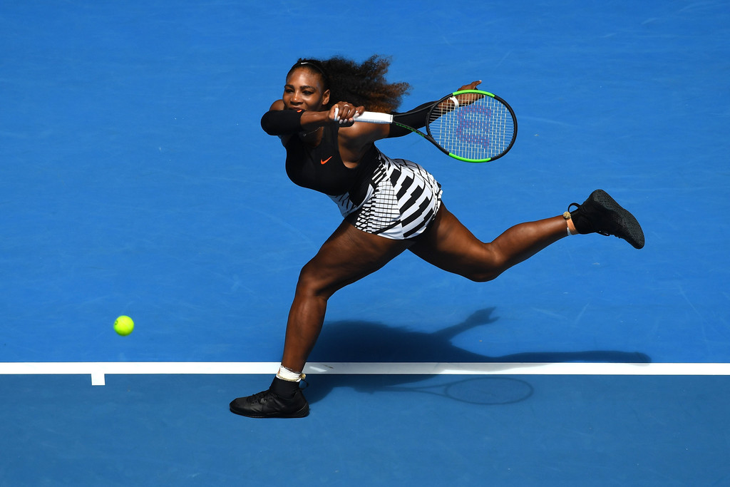 is serena williams playing in the australian open