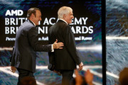 Kevin Spacey presents Britannia Award for Excellence in Television presented by Swarovski to Dick Van Dyke.onstage at the 2017 AMD British Academy Britannia Awards Presented by American Airlines And Jaguar Land Rover at The Beverly Hilton Hotel on October 27, 2017 in Beverly Hills, California.