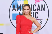 Alisha Marie attends the 2017 American Music Awards at Microsoft Theater on November 19, 2017 in Los Angeles, California.