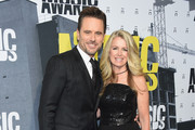 Actor Charles Esten and Patty Hanson attend the 2017 CMT Music Awards at the Music City Center on June 7, 2017 in Nashville, Tennessee.
