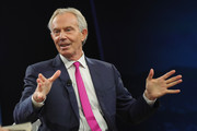 Tony Blair, Chairman, European Council on.Tolerance and Reconciliation & Former.Prime Minister, United Kingdom of Great.Britain and Northern Ireland, speaks at The 2017 Concordia Annual Summit at Grand Hyatt New York on September 18, 2017 in New York City.