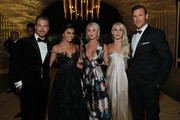 (L-R) Derek Hough, Hayley Erbert, Kelsey McGowan, Julianne Hough and Brooks Laich attend the 2017 Creative Arts Emmy Awards Creative Arts Ball on September 9, 2017 in Los Angeles, California.