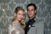Olivia Jordan (L) and guest at the 2017 GLSEN Respect Awards at the Beverly Wilshire Four Seasons Hotel on October 20, 2017 in Beverly Hills, California.