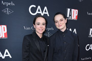Actress Ellen Page and dancer Emma Portner attend the 2017 Los Angeles Dance Project Gala on October 7, 2017 in Los Angeles, California.
