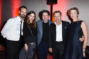 Choreographer Benjamin Millepied, actress Maria Valverde, conductor Gustavo Dudamel, Mikhail Baryshnikov and Lisa Rinehart attend the 2017 Los Angeles Dance Project Gala on October 7, 2017 in Los Angeles, California.