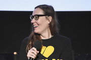 """LAFF Director Jennifer Cochis speaks at """"The Movie Crypt"""" Podcast during 2017 Los Angeles Film Festival at Arclight Cinemas Culver City on June 18, 2017 in Culver City, California."""