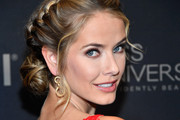 Miss USA 2015 Olivia Jordan attends the 2017 Miss Universe Pageant at Planet Hollywood Resort & Casino on November 26, 2017 in Las Vegas, Nevada.