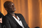 "Actor Peter Mensah of ""Midnight, Texas"" speaks onstage during the 2017 NBCUniversal Summer Press Day at The Beverly Hilton Hotel on March 20, 2017 in Beverly Hills, California."