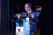 Tom McCarthy accepts an award onstage at the Screenwriters Tribute during the 2017 Nantucket Film Festival - Day 3 on June 23, 2017 in Nantucket, Massachusetts.