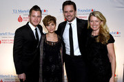 Brandon Robert Young, Clare Bowen, Charles Esten, and Patty Hanson  arrive at the T.J. Martell Foundation 9th Annual Nashville Honors Gala at Omni Hotel on February 27, 2017 in Nashville, Tennessee.at Omni Hotel on February 27, 2017 in Nashville, Tennessee.