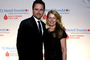 Charles Esten and Patty Hanson attend the T.J. Martell Foundation 9th Annual Nashville Honors Gala at Omni Hotel on February 27, 2017 in Nashville, Tennessee.at Omni Hotel on February 27, 2017 in Nashville, Tennessee.