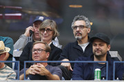John Turturro watches the Men's Singles finals match between Kevin Anderson of South Africa and Rafael Nadal of Spain on Day Fourteen of the 2017 US Open at the USTA Billie Jean King National Tennis Center on September 10, 2017 in the Flushing neighborhood of the Queens borough of New York City.