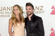 Karen Martinez (L) and Juanes attend the 2017 Person of the Year Gala honoring Alejandro Sanz at the Mandalay Bay Convention Center on November 15, 2017 in Las Vegas, Nevada.