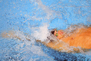 Matt Grevers competes the Men's 100 LC Meter Backstroke Final during the 2017 Phillips 66 National Championships & World Championship Trials at Indiana University Natatorium on June 30, 2017 in Indianapolis, Indiana.