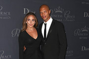 Chloe Green (L) and Jeremy Meeks attend 2017 Princess Grace Awards Gala at The Beverly Hilton Hotel on October 25, 2017 in Beverly Hills, California.