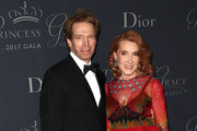 Jerry and Linda Bruckheimer attend the 2017 Princess Grace Awards Gala at The Beverly Hilton Hotel on October 25, 2017 in Beverly Hills, California.