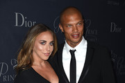 Chloe Green (L) and model Jeremy Meeks attend 2017 Princess Grace Awards Gala at The Beverly Hilton Hotel on October 25, 2017 in Beverly Hills, California.