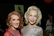 Linda Bruckheimer (L) and Princess Grace Foundation Board of Trustees Lynn Wyatt attend 2017 Princess Grace Awards Gala at The Beverly Hilton Hotel on October 25, 2017 in Beverly Hills, California.