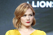 Actor Louisa Krause of 'The Girlfriend Experience' speaks onstage during the Starz portion of the 2017 Summer Television Critics Association Press Tour at The Beverly Hilton Hotel on July 28, 2017 in Beverly Hills, California.